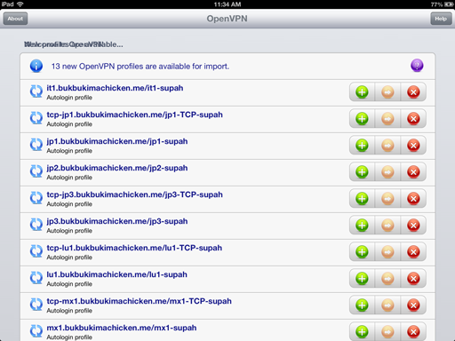 IOS OpenVPN Setup, iPhone / iPad / iPod Touch - Getting