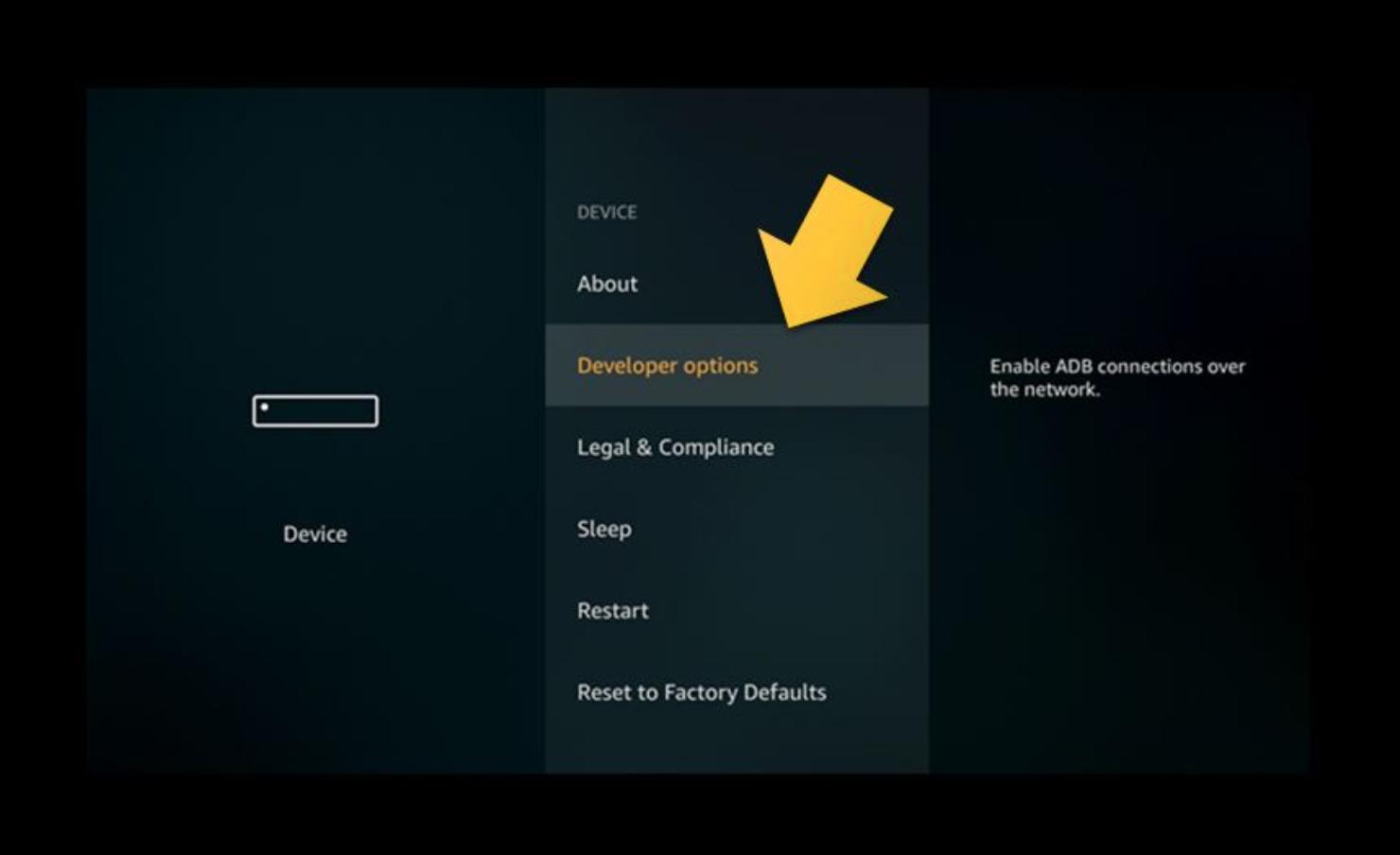 Amazon Firestick & FireTV - Getting Started OpenVPN — VPNSecure